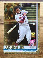 2019 Topps Update GOLD  Ronald Acuna Jr SP #'d/2019⚾️#us271 Atlanta Braves
