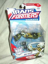 Transformers Action Figure Animated Deluxe Oil Slick 6 inch