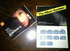 The NIKON SYSTEM booklet & Better 35mm Pictures KODACOLOR Brochure