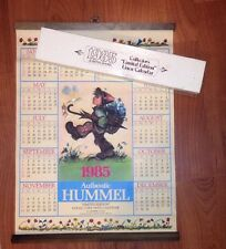 """1985 Authentic Hummel Linen Calender: Collectors """"Limited Edition"""" In Box"""