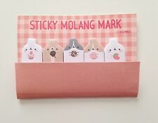 Molang stick markers mini sticky notes post it notes podgy potato rabbit nom nom