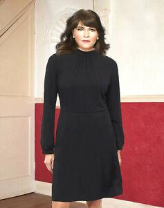 H&M BLACK JERSEY DRESS SIZE S. 10 - 12