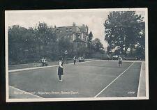 Devon PAIGNTON Marist Convent Tennis Court c1930/50s? PPC