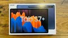 "New Sealed Samsung Galaxy Tab S7+ Plus 12.4"" 256GB With S Pen Wi-Fi Mystic Navy"