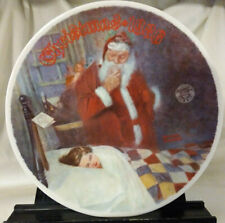 """Vintage Norman Rockwell 1986 Limited-Edition Christmas Plate """"Deer Santy Claus"""""""