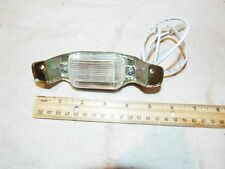 67 68 69 CAMERO OR FIRBIRD New License Plate Light Lite With Guide Lamp Lens
