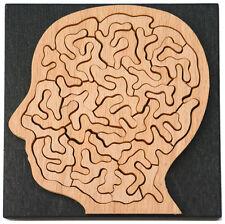 Holz-Puzzle Kleiner Kopf, ca. 35 Teile, knifflig, schwierig, Unnerstall