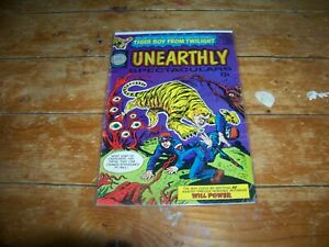 UNEARTHLY SPECTACULARS #1
