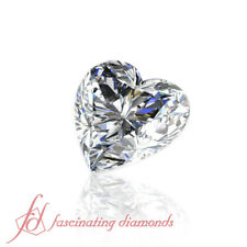 Design Your Own Ring - 0.52 Carat Heart Shape Certified Loose Diamonds -FLAWLESS
