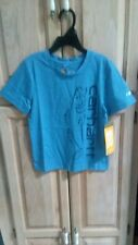 "Carhartt Blue T-Shirt ""Carhartt Fish Camp""Boys/L 14/16"