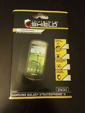 New Invisible Shield Screen Protector for Samsung Galaxy Stratosphere II Zagg