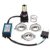 H4 BA20D 36W LED Hi/Lo faisceau moto ampoule de lampe avant phare 6000K Neuf