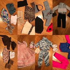 """18"""" Doll Outfit Lot (8 Outfits)- Perfect Condition (Can Fit American Girl Dolls)"""