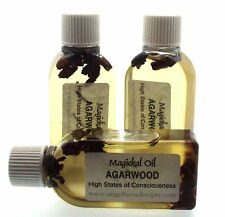 25mls Agarwood Herbal Infused Botanical Incense Oil Higher Consciousness
