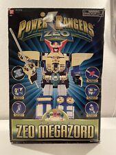Bandai Power Rangers : Deluxe ZEO Megazord Action Figure. 1996 Complete.