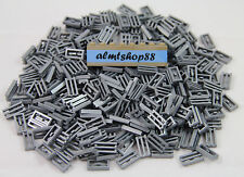 Lego - 1x2 Tiles Flat Silver w/ Grille - Car Truck Engine Fire Grate Lot 2412b