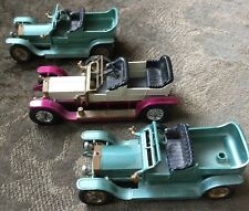3 MATCHBOX One 1906 Y-10 Two 1907 Y-15 Rolls Royce Cars Models of Yesteryear