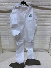 Lakeland Protective Suit M3p426 Micromax 3p Collar No Hood With Boots 2xl