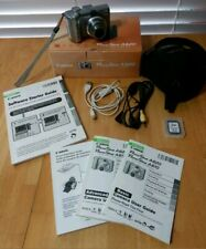 Canon PowerShot A620 7.1MP Digital Camera Black Camera Bag 32gb SD Card