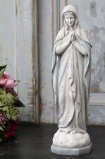 Chic Antique Madonna Figur Prayer Shabby Vintage Landhaus Brocante