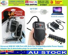 Universal 12V Car DC Battery Charger Adapter For Notebook Laptop
