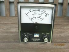 Vintage Siltronix pm -15  Meter - Watts