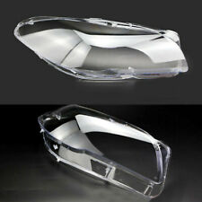 Fits 2011-2016 BMW 5-Series F10 528i 535i 550i Headlight Clear Lens Pair LH+RH
