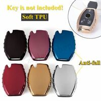 TPU Remote Key Cover Case Shell Holder For Mercedes-Benz A B C E G S M Class