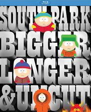 South Park The Movie: Bigger, Longer & Uncut   New Sealed   Blu-ray Region free