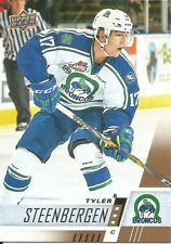 Tyler Steenbergen #104 - 2017-18 CHL - Base - Swift Current Broncos