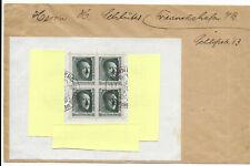 DR 1937  Brief mit Block 11