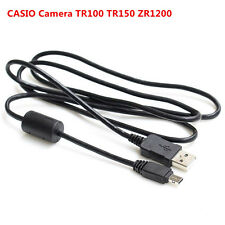 1.2M 12Pin camera usb data charging cable for CASIO Camera TR100 TR150 ZR1200