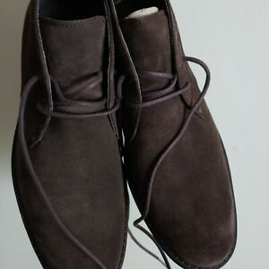 Sperry Top Sider Annapolis Brown Suede Chukka Boots Size 11