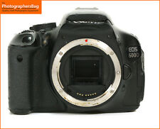 Canon EOS 600D Digital SLR Camera Body Only  Free UK PP
