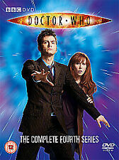 Doctor Who - Series 4 - Complete (DVD, 2008, 4-Disc Set)