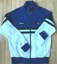 Men/'s Track Jacket Italy Color Blue//White