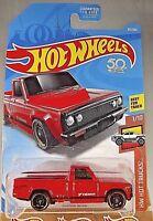 2018 Hot Wheels #83 HW Hot Trucks 1/10 MAZDA REPU Red w/Black St8 Sp 50th Anniv