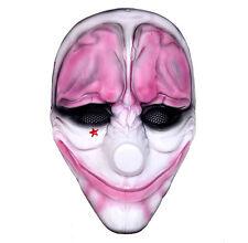 Airsoft Paintball BB Gun Mask Full Protection PAYDAY HOXTON Joker Mask