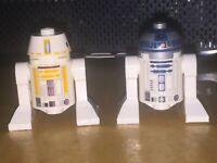 Lego R5-F7 SW0370 R2-D2 Dark Pink Dots sw1085 Minifig Star Wars  9495 75273