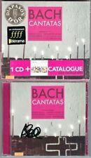 Andreas SCHOLL Signiert BACH Cantata BWV 49 115 180 Pregardien Schlick Coin CD