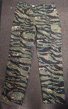 """Nuevo Para Hombres US Army Estilo BDU Verde camuflaje Tigre Rayas Pantalones Large Reg 35-39"""""""