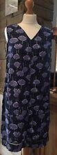 Next New Ladies Linen Mix Summer Dress Floral, Orange,Navy, White Sizes 6 - 26