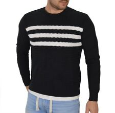 Adidas 3s Originals Sweater jersey de punto camuflaje algodón camisa negro
