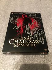 DVD - The Texas Chainsaw Massacre Set Immaculate- And Signed By Scott Kosar!