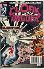 Mutant Misadventures of Cloak and Dagger 1988 series # 3 UPC code very fine