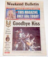 KISS Band Gold Coast Australia Aussie Weekend Bulletin Newspaper Magazine 2001