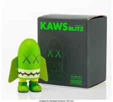 KAWS (AMERICAN, B. 1974) BLITZ (GREEN), 2004 PAINTED CAST VINYL 6 X... Lot 11017