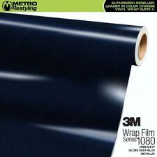 3M 1080 G217 GLOSS DEEP BLUE METALLIC Vinyl Vehicle Car Wrap Decal Sheet Roll