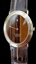 Man's Universal Geneve Solid 18k Gold 25J Automatic Wristwatch. Big! Ca. 1960's
