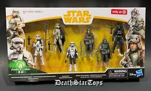 Star Wars 6-Pack Solo Stormtrooper Mimban Han Mud Trooper Patrol Squad Leader